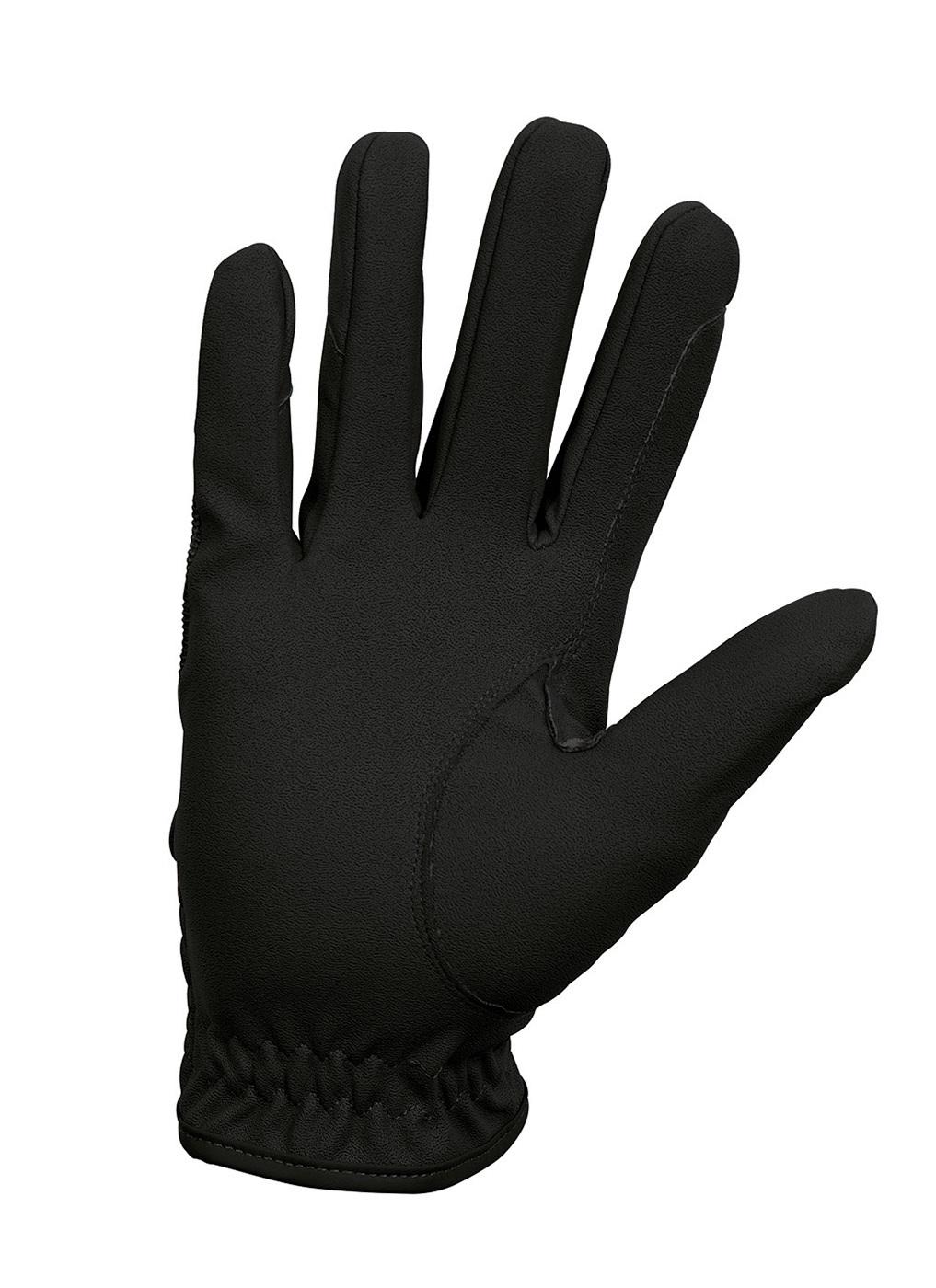 REITHANDSCHUHE •anti-slip Hightech-Leder WEISS schwarz GRAU angenehm elastisch