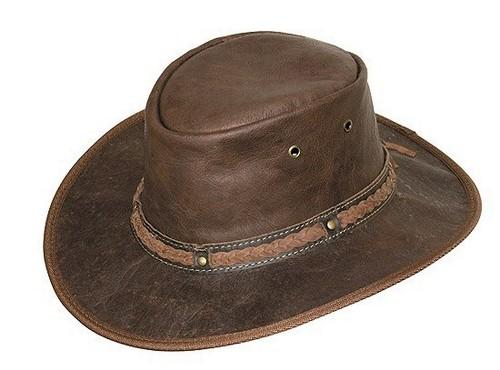 SCIPPIS Kangaroo Sundowner Leder Westernhut Hüte Herren Lederhüte 9d956fead0