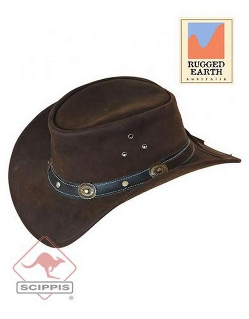 online store ac61b 9715d Lederhut RENO, Westernhut, Cowboyhut von Scippis