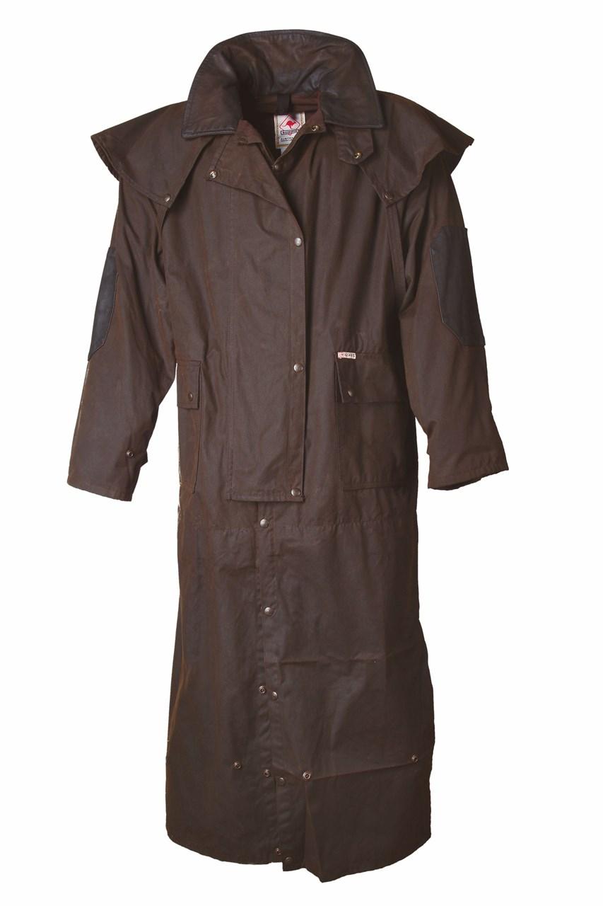 Tropfenverschiffen großer Verkauf Neu werden Longrider Coat Scippis, Regenreitmantel, Wachsmantel, Regenmantel